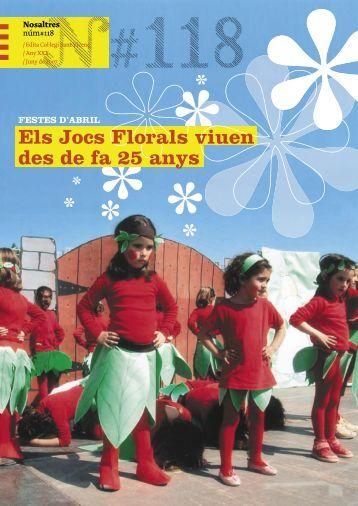 Els Jocs Florals viuen des de fa 25 anys - Col·legi Sant Vicenç