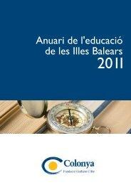 Anuari de l'educació 2011 - Universitat de les Illes Balears