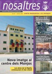 Núm, 97, Setembre 2006 - Ajuntament de Santa Margarida i els ...