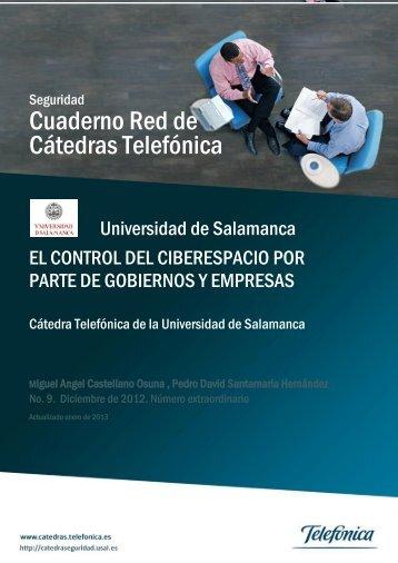Cuaderno Red de Cátedras Telefónica