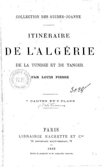Guide Joanne, 1882 - Accueil