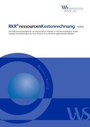 Rkr®ressourcenkostenrechnung / NRW - Admeta