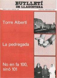 Juliol 1985 - Arxiu - Ajuntament de Llagostera