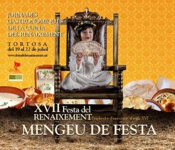 Descarregar menús PDF - Festa del Renaixement