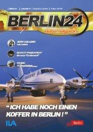 Berlin 24 Das Magazin Ausgabe 15