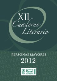 Cuaderno Literario - Quart de Poblet