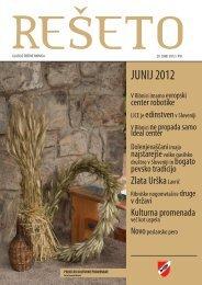 REŠETO, 29. junij 2012, letnik XVI (10,2 MB) - Občina Ribnica