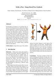 Strike a Pose : Image-Based Pose Synthesis - EDM - UHasselt