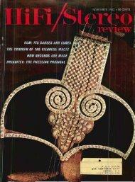 HiFi/Stereo Review November 1962 - Vintage Vacuum Audio
