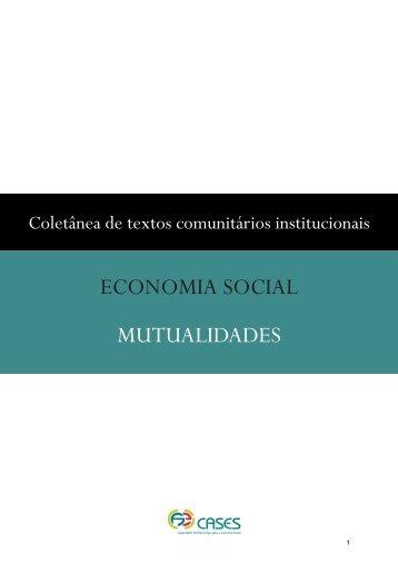 ECONOMIA SOCIAL MUTUALIDADES - cases