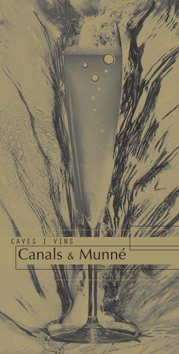 Catàleg - Canals & Munné