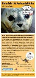 Eiderfahrt & Seehundsbänke - Adler Schiffe