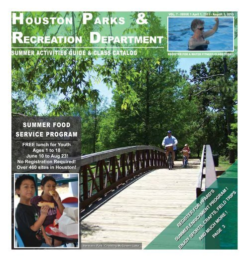 houston parks and recreation