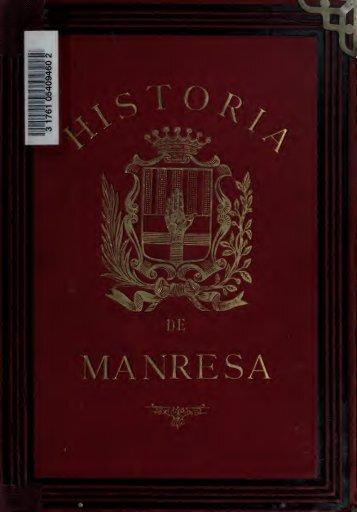 Ensayos históricos sobre Manresa. Precedido de un análisis de ...