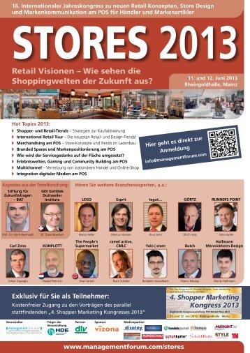 2013 - Management Forum der Verlagsgruppe Handelsblatt GmbH