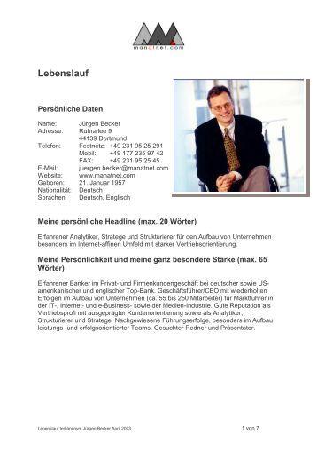 Erfreut Lebenslauf Für Persönlichen Banker Job Fotos - Entry Level ...