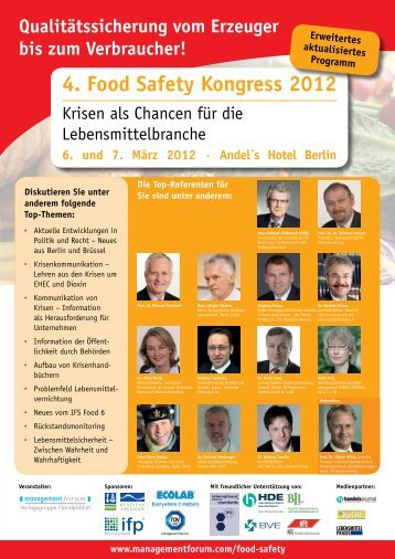 4. Food Safety Kongress 2012 - DNV Business Assurance