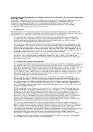 Allgemeine Geschäftsbedingungen der Mandala Internet, EDV ...