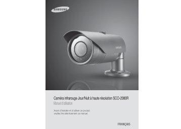 Caméra infrarouge Jour/Nuit à haute résolution SCO ... - Samsung
