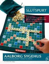 SlutSPurt AALBORG SYGEHUS - Region Nordjylland