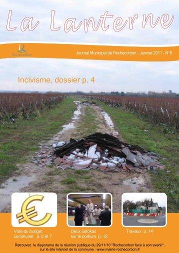 Incivisme, dossier p. 4 - Rochecorbon
