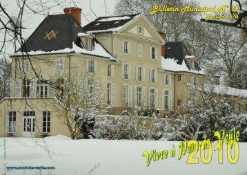 Bulletin municipal 2010 - Pont-de-Veyle