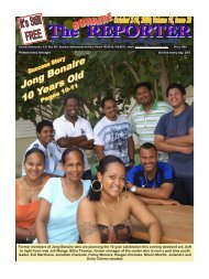 10-02-09 - The Bonaire Reporter