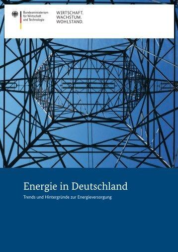 Energie in Deutschland