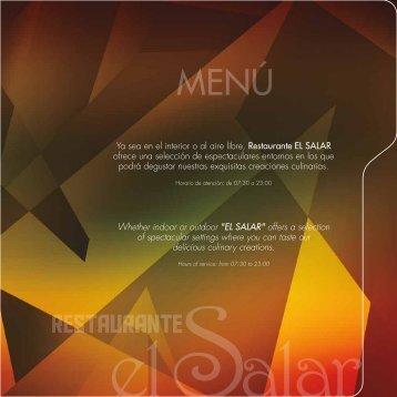 hojas Menu El Salar 09,04,12 - DM Hotel Andino
