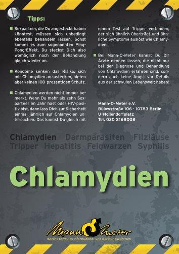 Chlamydien - Mann-O-Meter