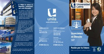 Folleto en Línea - Universidad Latina