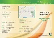 Flyer Psychosoziale Hilfen - MAQT
