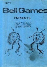 Manuel, Bell Games, World Defender