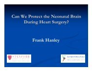 Can We Protect the Neonatal Brain During Heart