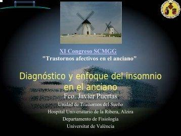 Diagnóstico y enfoque del insomnio en el anciano