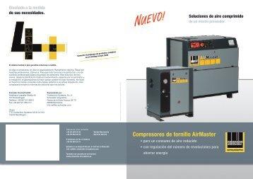 Compresores de tornillo AirMaster - Schneider airsystems