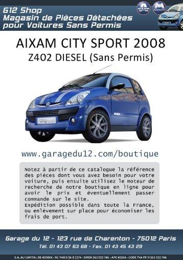 Aixam City Sport Z402 VSP - Garage du 12