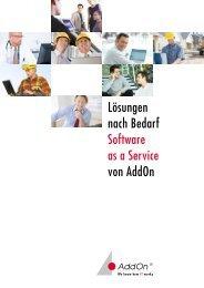 Der nächste Schritt - AddOn Systemhaus GmbH