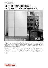 MILO büroschrank MILO armoire de bureau - Interio