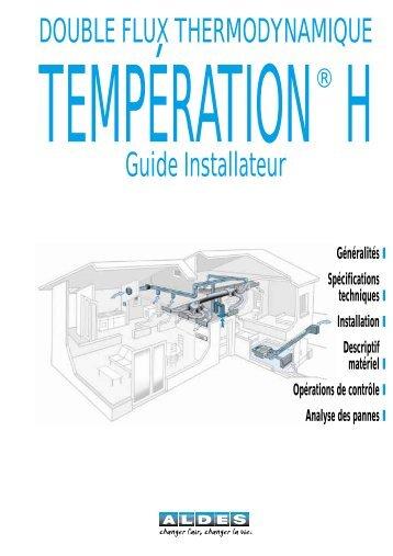 VC 088 - Temp H instal - Aldes
