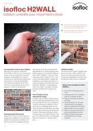 brochure Isofloc H2WALL - atelier bois accueil