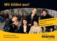 Unser neuer Ausbildungs-Flyer zum Download ... - Bäckerei Mareis