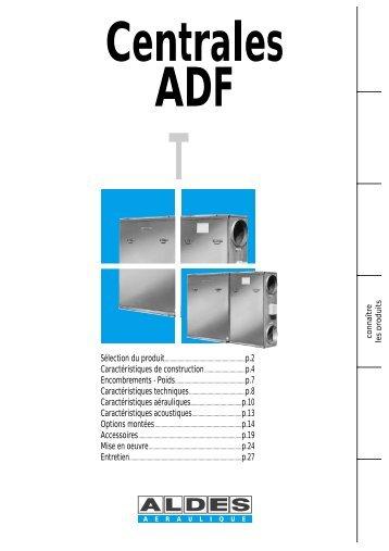 Centrales ADF - Aldes