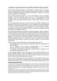 Tema 7: La poesia de Vicent Andrés Estellés - IES Jaume I de ...
