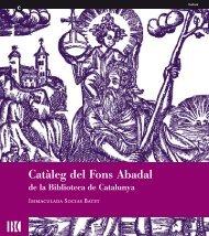 Untitled - Biblioteca de Catalunya