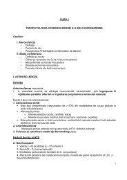 1 CURS 1 FIZIOPATOLOGIA ATEROSCLEROZEI & A BOLII ...
