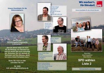 SPD wählen Liste 2