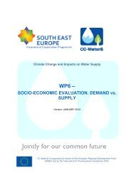 Final report WP6 - CC-WaterS