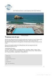 Thalassa sea & spa - Accor