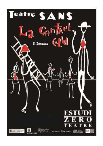 Dossier La Cantant Calba TEATRES CATALANS - Estudi Zero Teatre